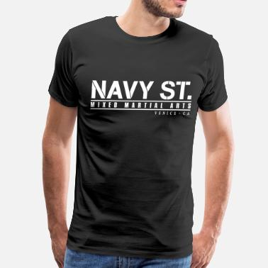 Navy navy st - Men's Premium T-Shirt