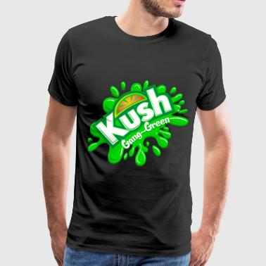 Kush Kidz Gang-Green - Men's Premium T-Shirt
