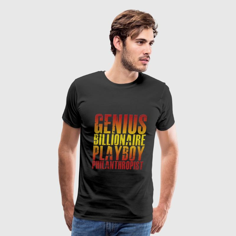 Genius Billionaire Playboy Philanthropist - Men's Premium T-Shirt