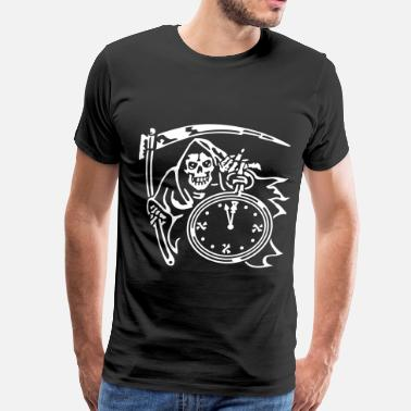Reaper-wear Reaper Time (for black shirts) - Men's Premium T-Shirt