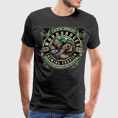 Woodbooger Chewing Tobacco - Men's Premium T-Shirt