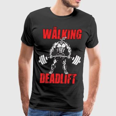 The Walking Deadlift - Men's Premium T-Shirt