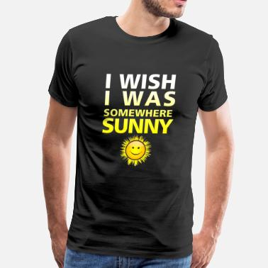 I Love Su & I Wish I Was Somewhere Su - Men's Premium T-Shirt