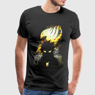Tail Happy Dragon Natsu - Men's Premium T-Shirt