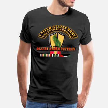Desert Storm Veteran Army - US CENTRAL COMMAND - Desert Storm Veteran - Men's Premium T-Shirt