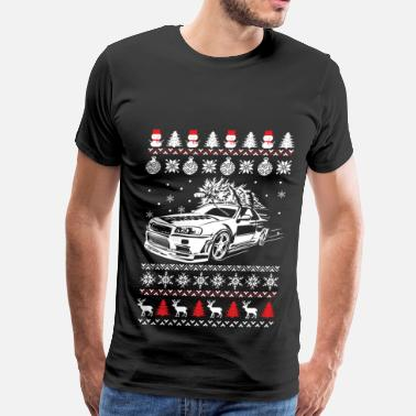 Ae Christmas sweater for Fast and furious fan - Men's Premium T-Shirt