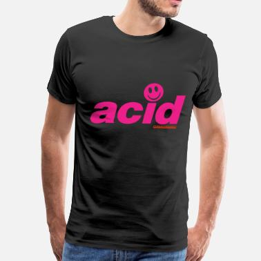 Acid House Pink Acid - Men's Premium T-Shirt
