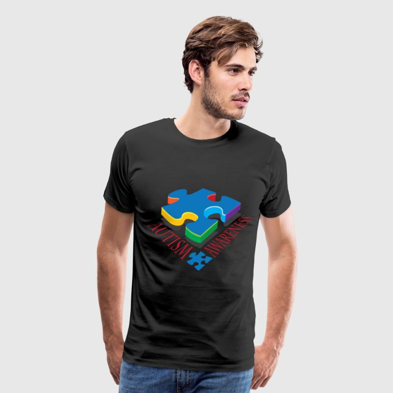 Autism Awareness Puzzle Piece - Men's Premium T-Shirt