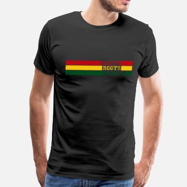 Reggae Roots Rock Reggae Rasta Roots Roots Reggae - Men's Premium T-Shirt