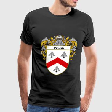 Walsh walsh_coat_of_arms_mantled - Men's Premium T-Shirt
