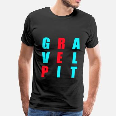 Gravelpit Rep The Pit - Men's Premium T-Shirt