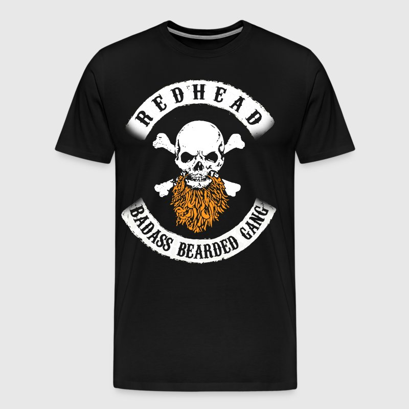 REDHEAD BEARD GANG - Men's Premium T-Shirt