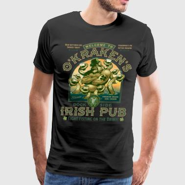 OKraken's Irish Pub - Men's Premium T-Shirt