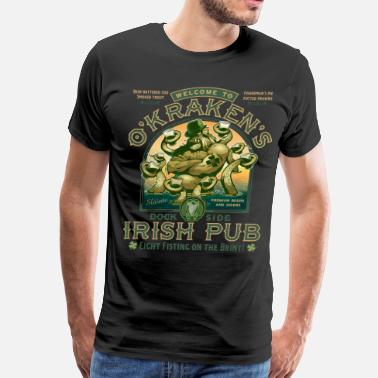Pub OKraken's Irish Pub - Men's Premium T-Shirt