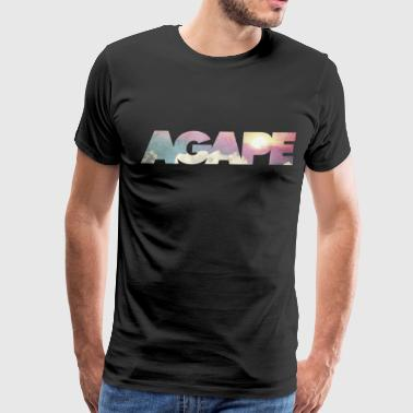 AGAPE (Clouds) - Men's Premium T-Shirt