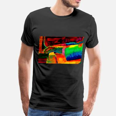 Solo Jazz JAZZ PIANIST - Men's Premium T-Shirt