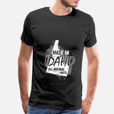 Funny Idaho Idaho T-shirt - Made in Idaho - Men's Premium T-Shirt