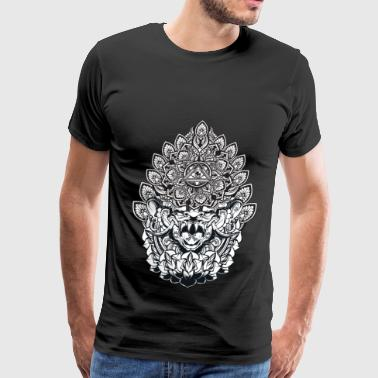 Dope House Chinese Dragon - Men's Premium T-Shirt