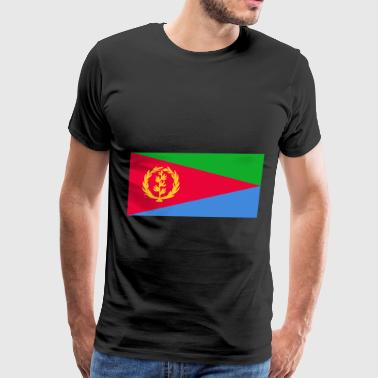 Eritrea Flag - Men's Premium T-Shirt