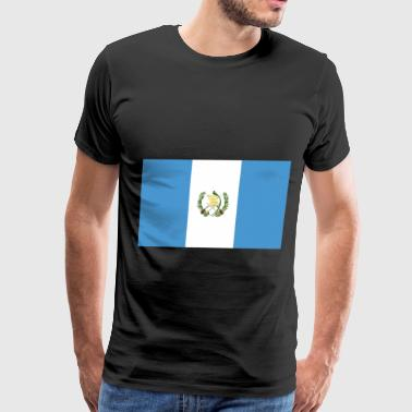Guatemala Flag - Men's Premium T-Shirt