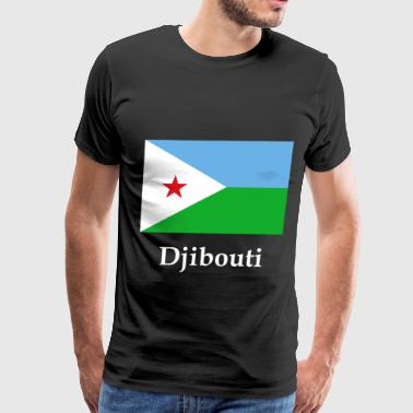 Djibouti Flag - Men's Premium T-Shirt