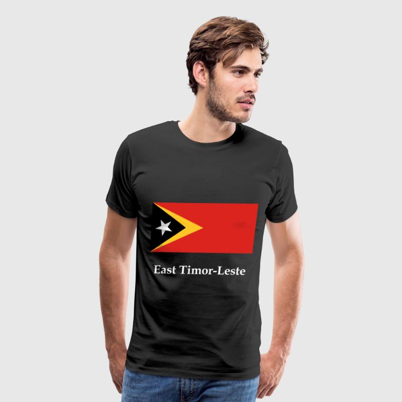 East Timor-Leste Flag - Men's Premium T-Shirt