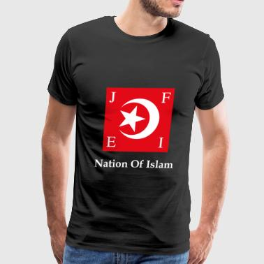 Nation Of Islam Flag - Men's Premium T-Shirt