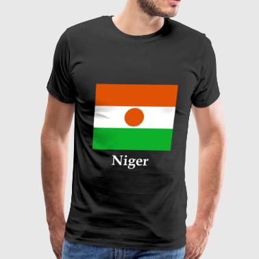 Niger Flag - Men's Premium T-Shirt