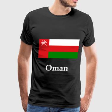 Oman Oman Flag - Men's Premium T-Shirt