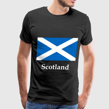 Scotland Flag - Men's Premium T-Shirt