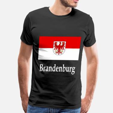 Brandenburg Brandenburg Flag - Men's Premium T-Shirt