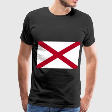 Alabama State Flag Alabama Flag - Men's Premium T-Shirt