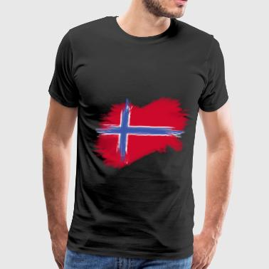 Norway Flag Norge norway flag norge flag - Men's Premium T-Shirt