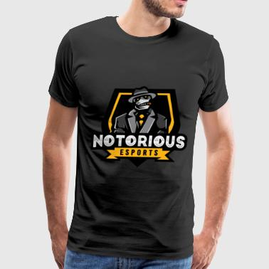 Notorious Esports - Men's Premium T-Shirt