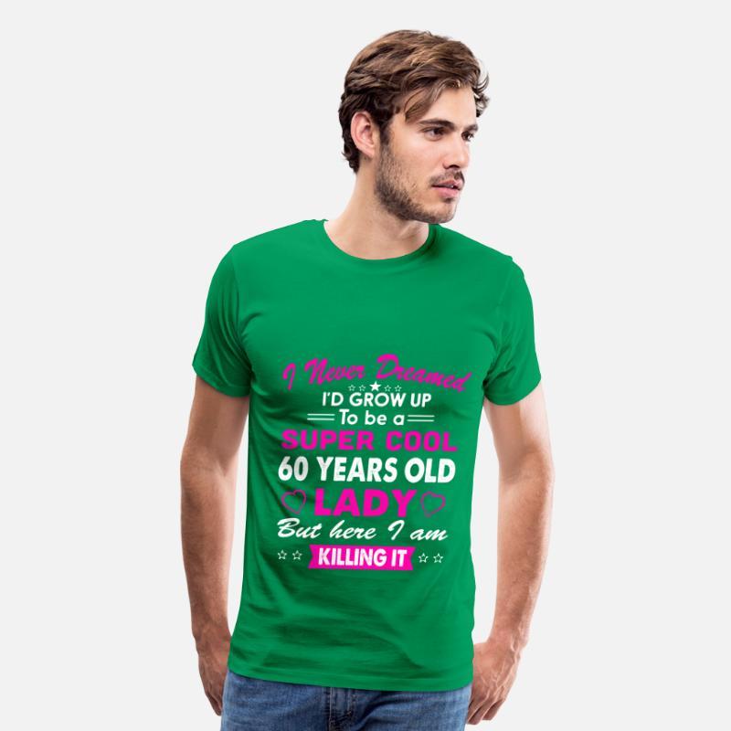 60 Years Old Womens T Shirt Birthday Gift By Kamikaza