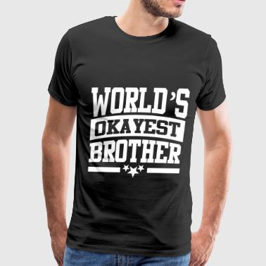 BROTHER YES2.png - Men's Premium T-Shirt