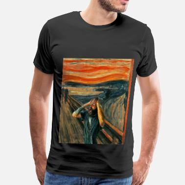 Grips The Scream (Death Grips) - Men's Premium T-Shirt