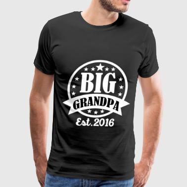 BIG GRANDPA14.png - Men's Premium T-Shirt