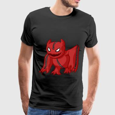 Monster red - Men's Premium T-Shirt