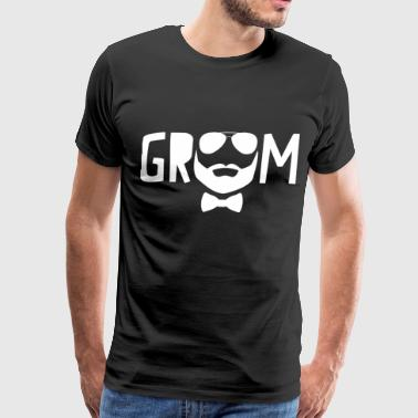 Bearded Groom - Men's Premium T-Shirt