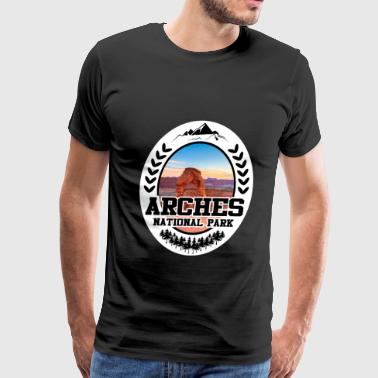 ARCHES 1271821.png - Men's Premium T-Shirt