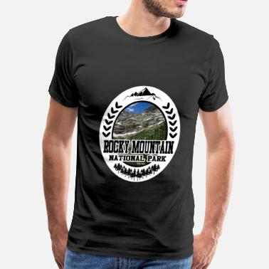 Rocky Mountains ROCKY 78782124.png - Men's Premium T-Shirt