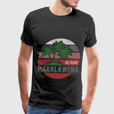 MAKALAWENA BEACH 12.png - Men's Premium T-Shirt