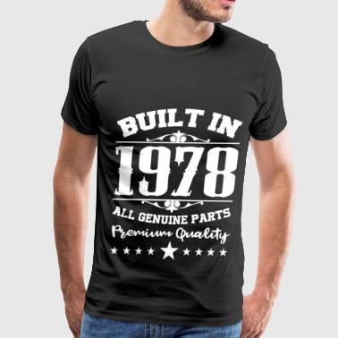 Built In 1978 1978 b.png - Men's Premium T-Shirt