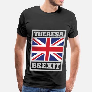 Love Theresa May THER 1B.png - Men's Premium T-Shirt