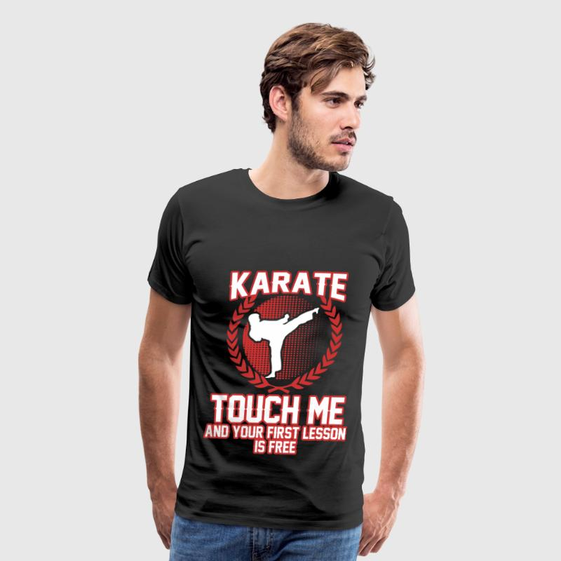 KARATE 1A.png - Men's Premium T-Shirt