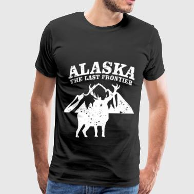 Alaska The Last Frontier - Men's Premium T-Shirt