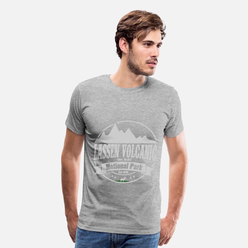 516665ae LASSEN 1B.png Men's Premium T-Shirt | Spreadshirt