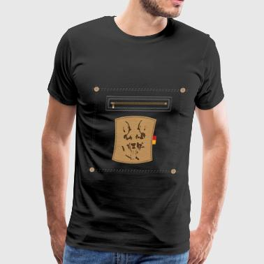 German Shepherd Dog - Men's Premium T-Shirt