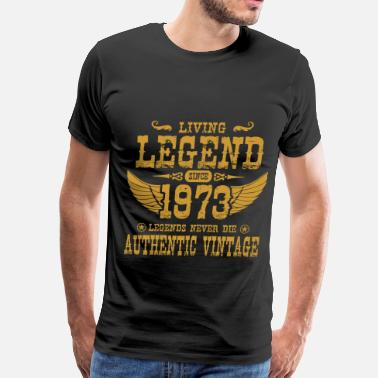 1973 September 1973 C.png - Men's Premium T-Shirt